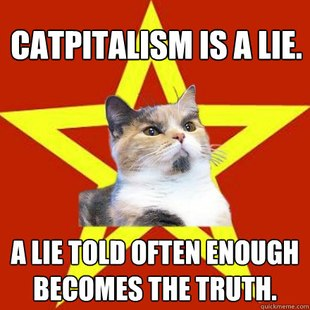Lenin Cat
