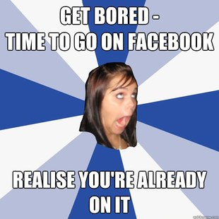 Annoying Facebook Girl