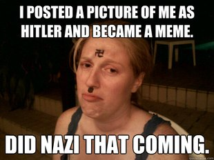 Sad Hitler Girl