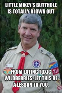Harmless Scout Leader