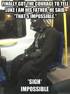 Sad Vader
