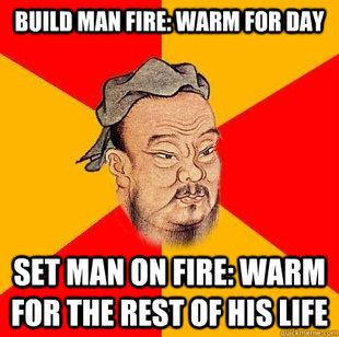 confucius say meme MEM...
