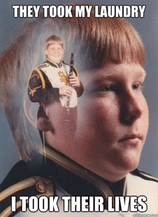 PTSD Clarinet Boy