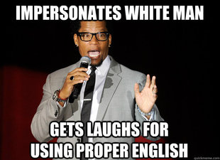 Stereotypical Black Comedian