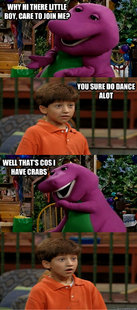 Sexually Transmitted Barney