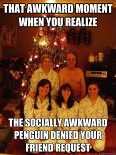 the awkward family