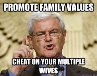 Newt Gingrich Idea man