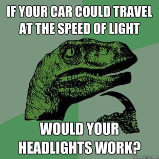 speed of light car