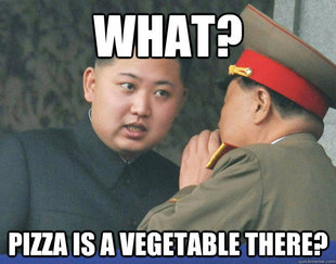 Hungry Kim Jong Un