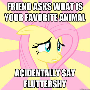 Socially awkward brony