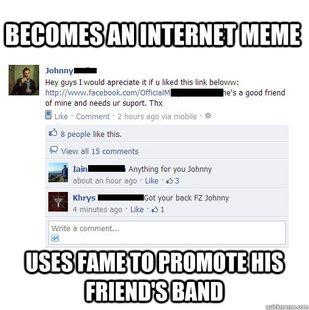 Good Guy Friendzone Johnny Meme Quickmeme