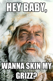 Pick Up Line Mountain Man