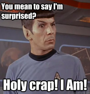 Surprised Spock