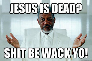 Morgan freeman GOD
