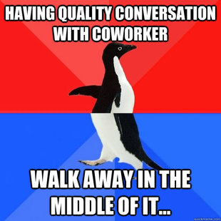 Socially Awksome Penguin