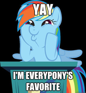 rainbow dash fucking awesome