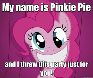 PINKIE PIE SAW PORN