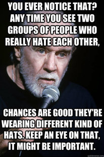 George Carlin on TF2