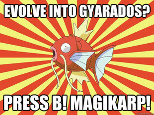 Advice Magikarp