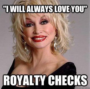 Good guy Dolly Parton