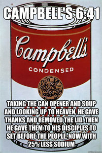 Soup Can God