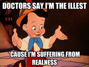 Real Boy Pinocchio