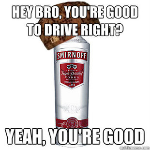 Scumbag Alcohol