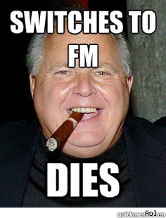 Scumbag Rush Limbaugh