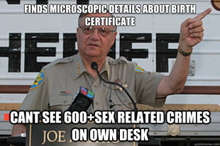 sheriff joe meme