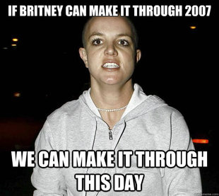 britney meme