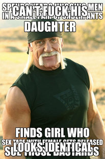 make your own HULK HOGAN SEX TAPE meme using our meme generator