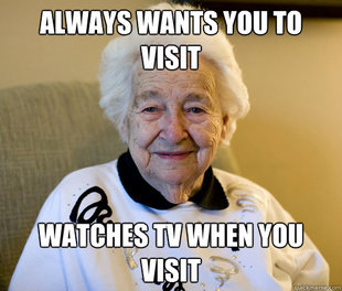Scumbag Grandma