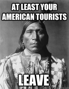 Vengeful Native American