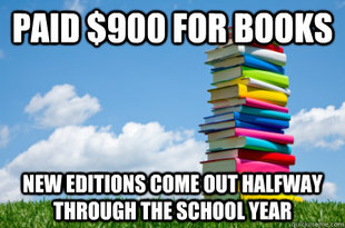 Scumbag Textbooks