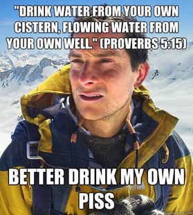 Love Picture on Bear Grylls Meme   Quickmeme