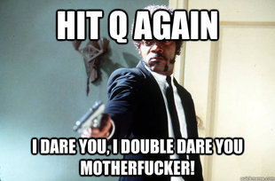 I Double Dare You
