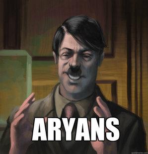 Aryan hitler meme quickmeme