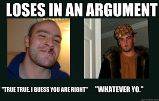 Good Guy Greg vs. Scumbag Steve