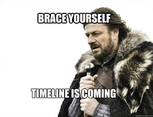 BRACE YOURSELF TIMELINE POSTS