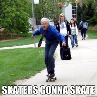 Skating Prof