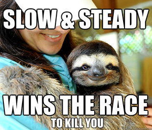 Plotting sloth