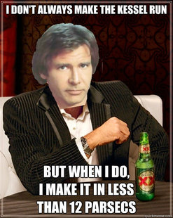 The Most Interesting Millenium Falcon Pilot In The World