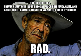 Oregon Trail Problems