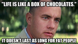 Offensive Forrest Gump