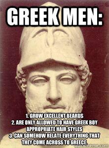 Greek meme quickmeme