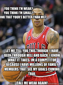Rose on Derrick Rose And What He Means To Chicago Meme   Quickmeme