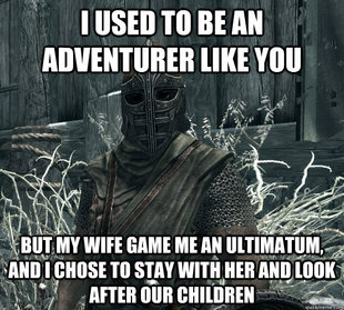 Rational Skyrim Guard