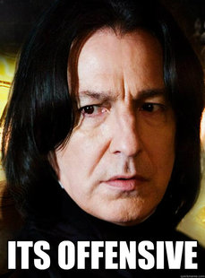 Sensitive Snape