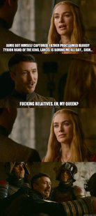 Smart ass Littlefinger
