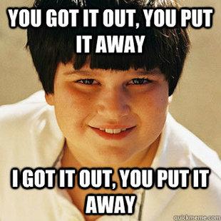 Annoying childhood friend Annoying Childhood Friend Meme Generator